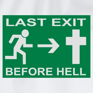 Last Exit before Hell - Turnbeutel