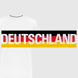 Deutschland | Germany toy bear - Men's Premium T-Shirt
