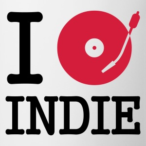 I dj / play / listen to indie T-Shirts - Kubek