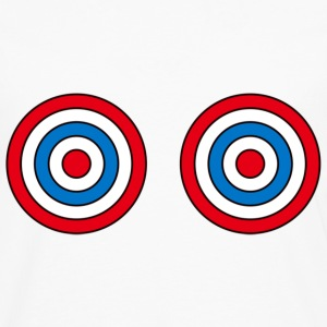 Primary target boobs t-shirt - Men's Premium Longsleeve Shirt