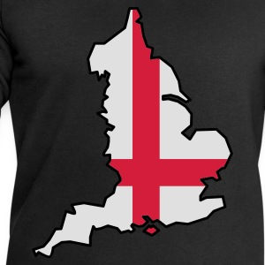 England flag black apron - Men's Sweatshirt by Stanley & Stella