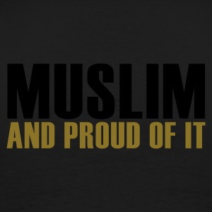 Zwart Proud to be Muslim! Sweaters - Mannen Premium T-shirt