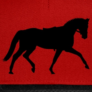 Red Dressage dressage  Kids' Tops - Snapback Cap