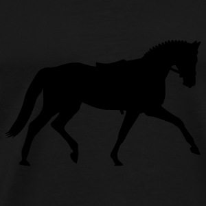 Black Dressage dressage  Bags  - Men's Premium T-Shirt