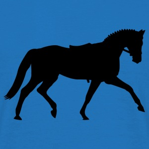 Royal blue Dressage dressage  Umbrellas - Men's T-Shirt