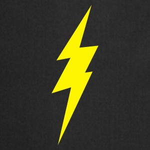 Black lightning bolt Underwear - Cooking Apron