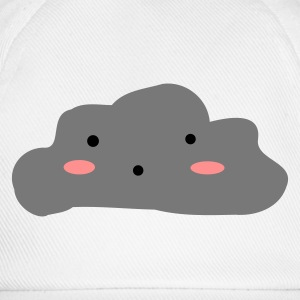 White Cloudy skies Underwear - Baseball Cap
