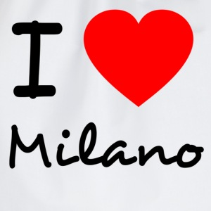 I love Milano - Turnbeutel