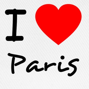 I love Paris - Baseballkappe