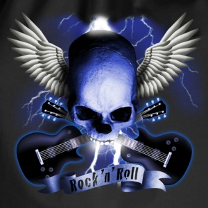 skull_and_wings_and_guitars_b Shirts - Gymtas