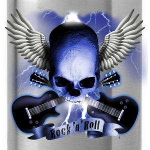 skull_and_wings_and_guitars_b Shirts - Drinkfles