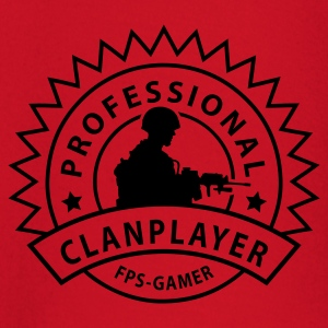 Red clanplayer Men's T-Shirts - Baby Long Sleeve T-Shirt