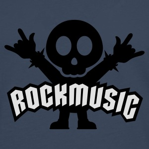 Königsblau Rock Music Metal Sign Two Fingers Pullover - Männer Premium Langarmshirt