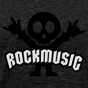 Grønn rock music heavy metal Gensere - Premium T-skjorte for menn