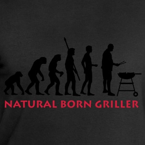Black natural_born_griller_2c Men's T-Shirts - Men's Sweatshirt by Stanley & Stella