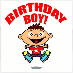 White Birthday Boy Kid's Shirts  - Baby T-Shirt