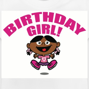 White Birthday Girl Kid's Shirts  - Baby T-Shirt