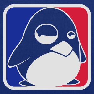 Navy TUX League, LINUX T-Shirts - Stoffbeutel