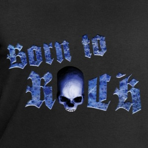 born_to_rock_skull_b Tee shirts - Sweat-shirt Homme Stanley & Stella