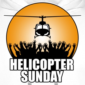 White helicopter_sunday Kids' Shirts - Men's Premium Hoodie
