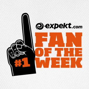 White/black Fan of the week Men's T-Shirts - Baseball Cap