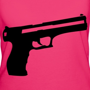 Pistol Gun Weapon Bags  - Women's Organic T-shirt