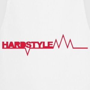 Wit Hardstyle Spikes T-shirts - Keukenschort