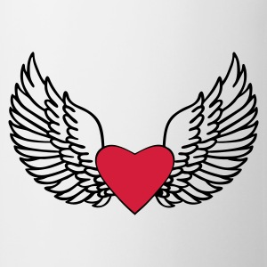 Heart and Wings - Mug