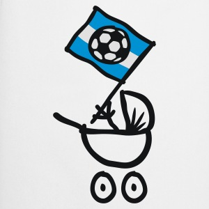 Argentina Bebé Fútbol Fan Baby Body - Cooking Apron