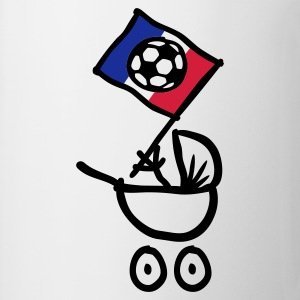 France Bébé Football Fan, Baby Body - Tasse