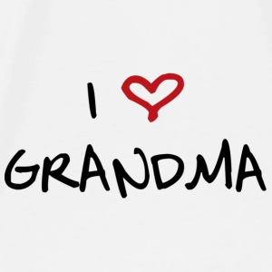 I Love GrandMa - Men's Premium T-Shirt
