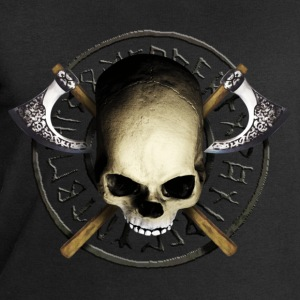 skull_tribal_axe_a Tee shirts - Sweat-shirt Homme Stanley & Stella