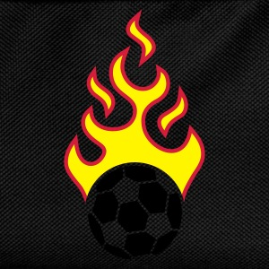 fire_fussball_a_3c_black  Aprons - Kids' Backpack