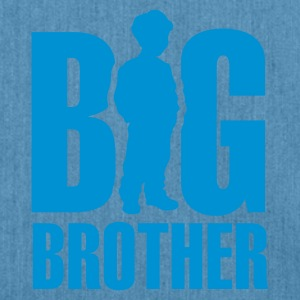 Light blue Big Brother Kids' Shirts - Shoulder Bag made from recycled material