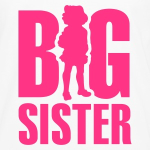 White Big Sister Kids' Shirts - Men's Premium Longsleeve Shirt