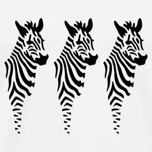 Zebras - Men's Premium T-Shirt