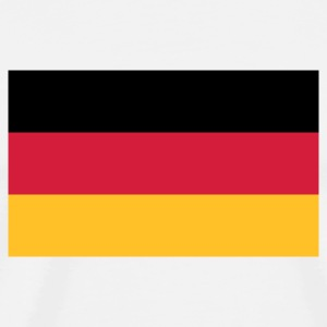 White Flag Germany 2 (3c) Mugs  - Men's Premium T-Shirt