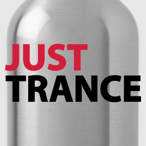 Grau meliert Just Trance Pullover - Trinkflasche