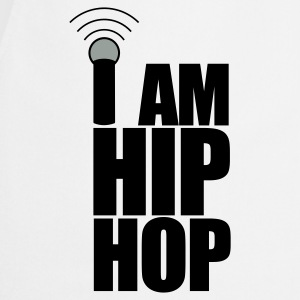 White I Am Hip Hop Hoodies & Sweatshirts - Cooking Apron
