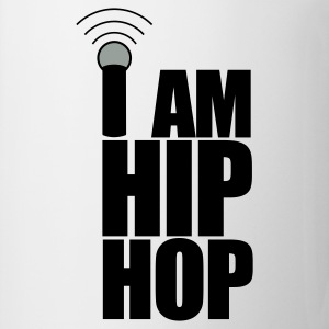White I Am Hip Hop Hoodies & Sweatshirts - Mug