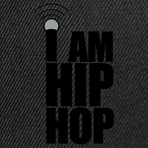 Sort I Am Hip Hop T-shirts - Snapback Cap