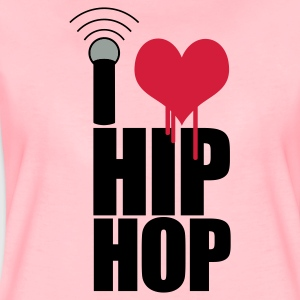 Light pink I Love Hip Hop Hoodies & Sweatshirts - Women's Premium T-Shirt