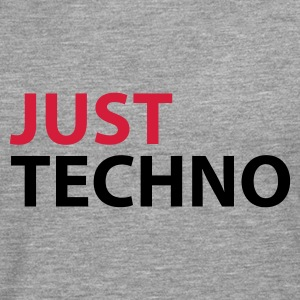 Heather grey Just Techno Hoodies & Sweatshirts - Men's Premium Longsleeve Shirt