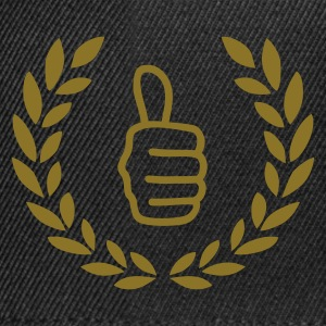 Sort Thumbs up T-shirts - Snapback Cap