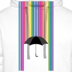 Colorful rain - Men's Premium Hoodie