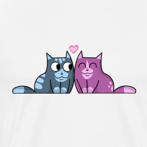kitty hug Hoodies & Sweatshirts - Men's Premium T-Shirt