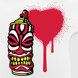 SPRAY I HEART TIKI PT.2 (pos) FR - T-shirt Bébé