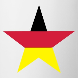 Vit germany_star T-shirts - Mugg