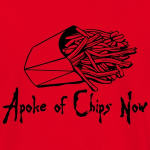 Red A Poke of Chips Now Hoodies & Sweatshirts - Men's T-Shirt