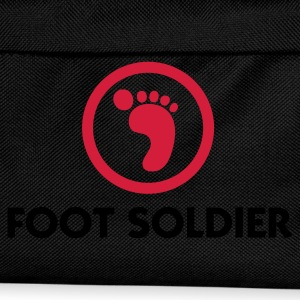 Black Foot Soldier (2c) Polo Shirts - Kids' Backpack